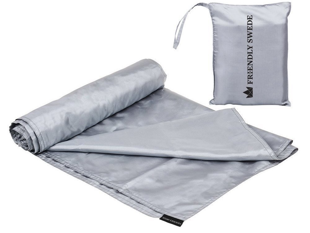 The Friendly Swede Travel and Camping Sheet Sleeping Bag Liner