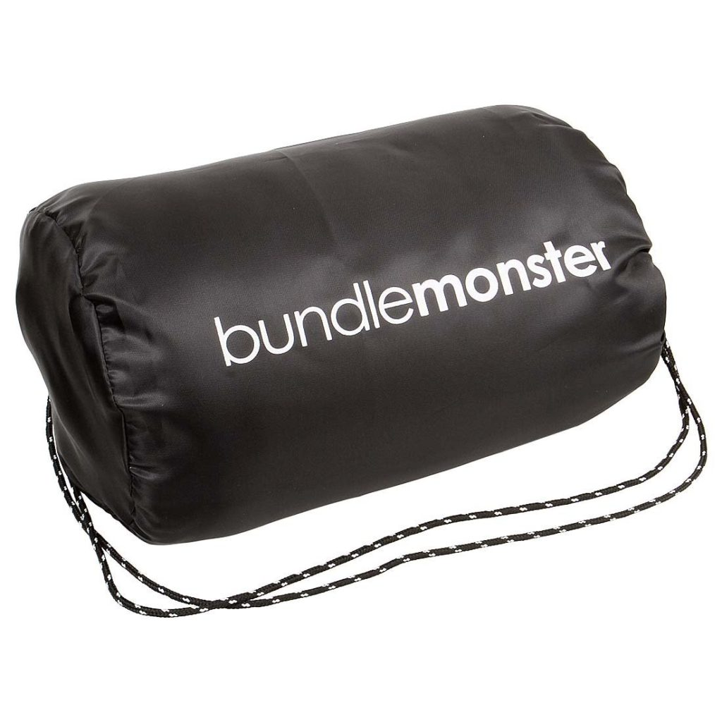 Bundle Monster Microfiber Fleece Sleeping Bag Liners