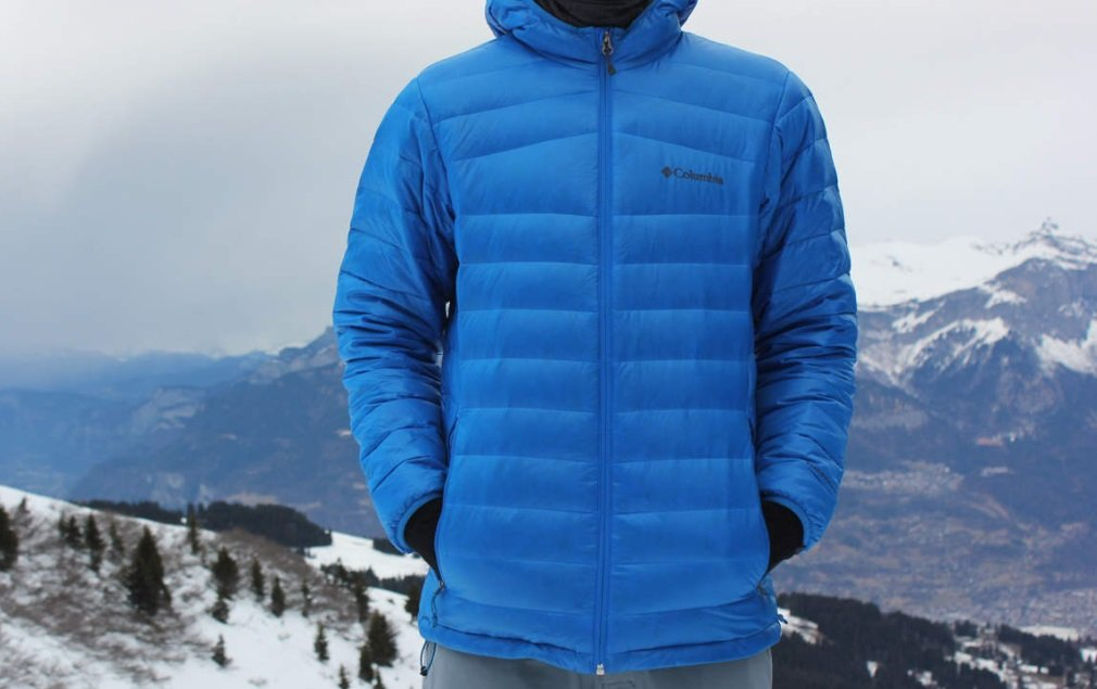 Columbia Platinum Turbo Down Jacket
