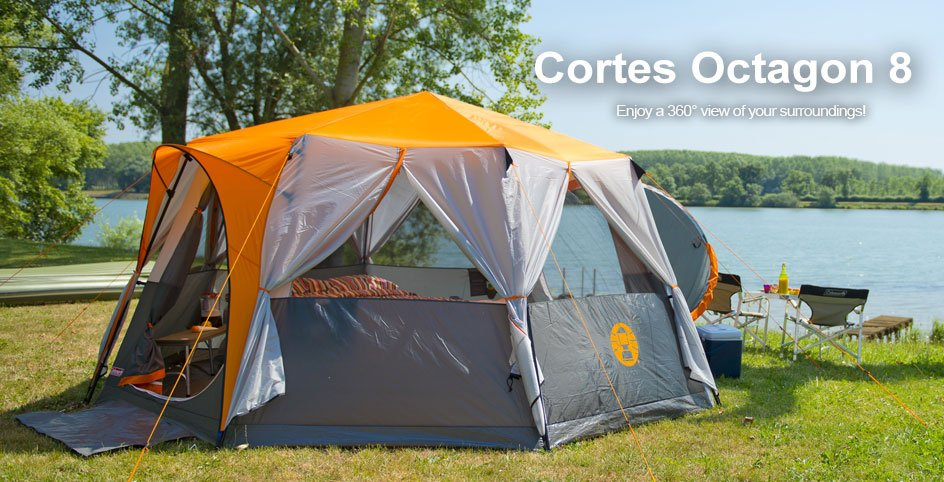 Unique Feature All weather friendly with two doors : buy coleman tents - memphite.com