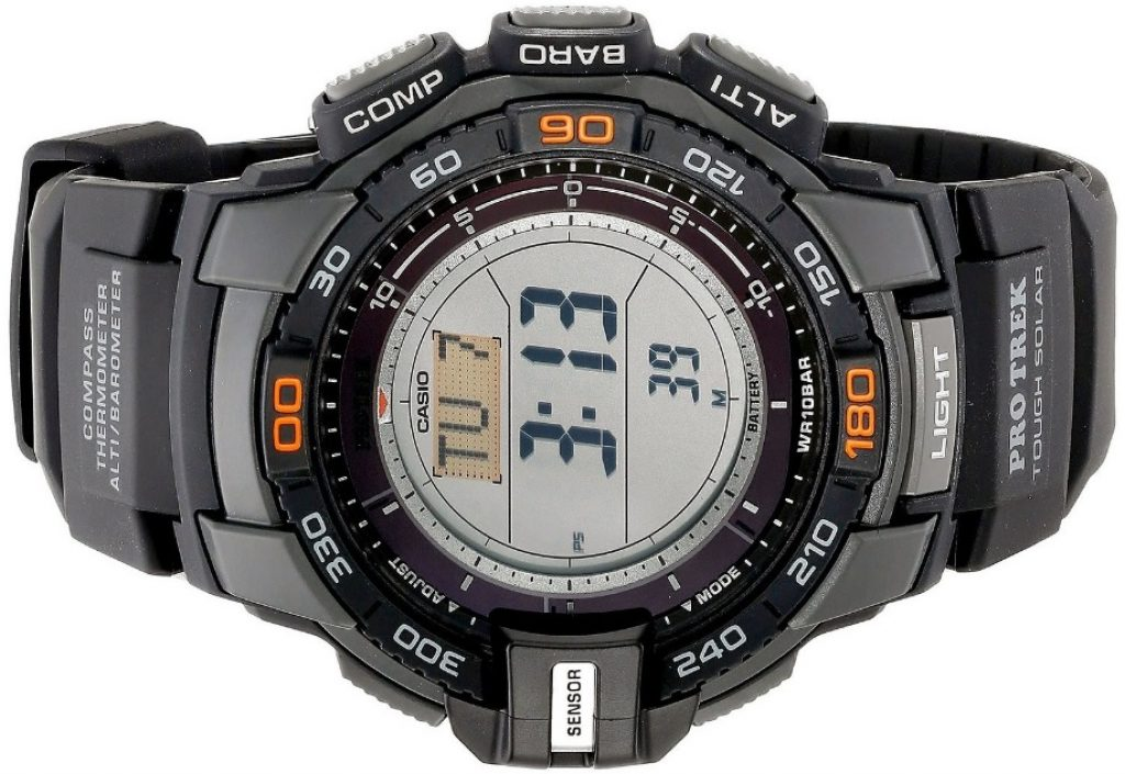Casio Men's Pathfinder Triple Sensor Multi-Function