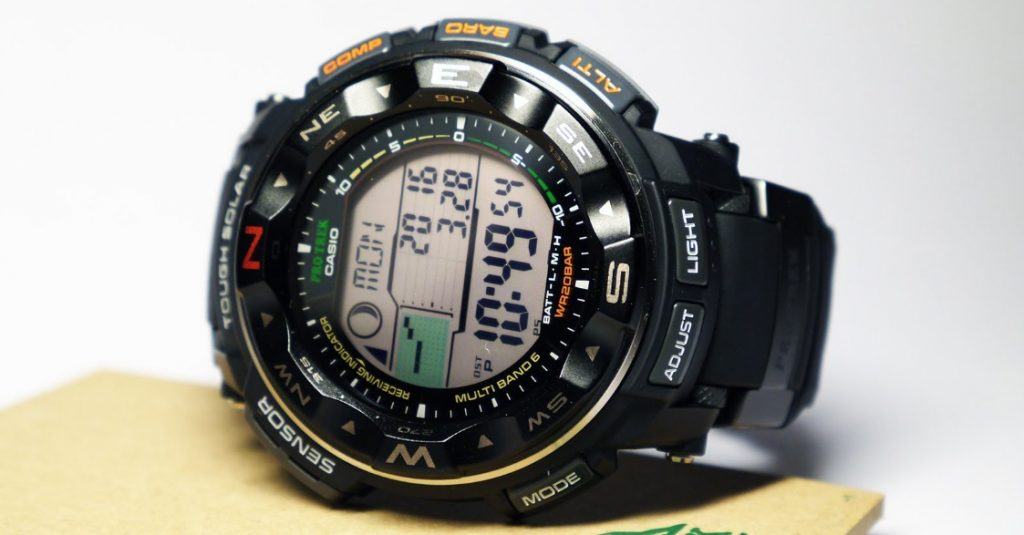 Casio Pro Trek Tough Solar