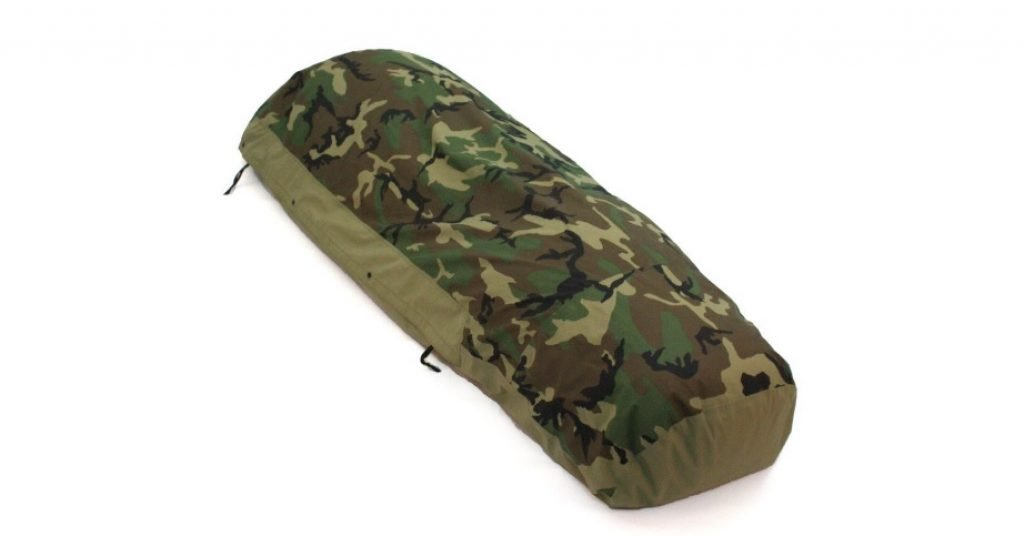 Woodland Camouflage Waterproof Bivy