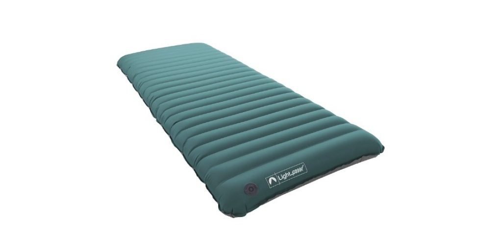 Lightspeed Outdoors Deluxe TPU Air Bed with Battery Operated Pump