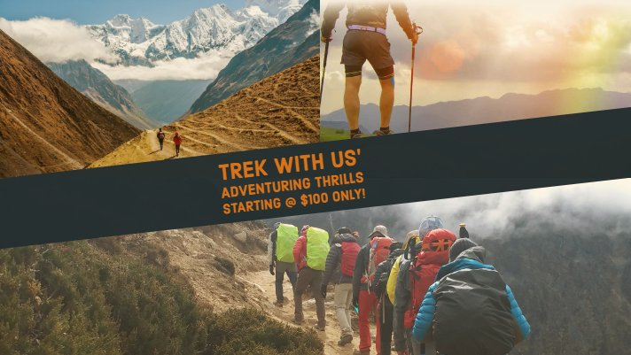 Trek With Us: Experience the Amazing Himalayas Like Never Before