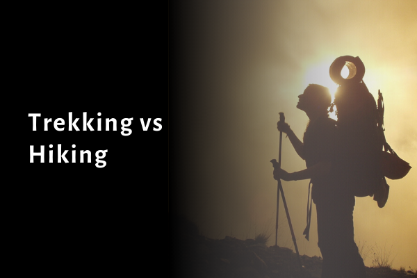 Trekking vs Hiking: Know Which is Better for You 2021