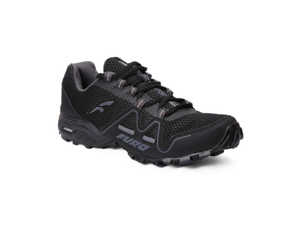 FURO by Red Chief Men's Black/Grey Hiking/Trekking Sports Shoes H20006 C1336