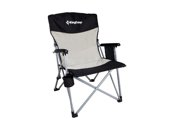 KingCamp Camping Chair Hard Arm Folding Camp Chair