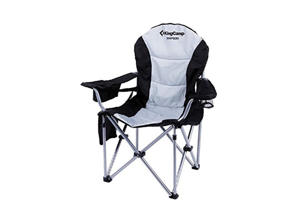 KingCamp Camping Chair with Lumbar Back Support