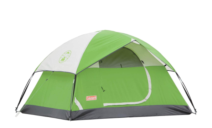 Coleman Sundome Camping Green Tent - 3 persons